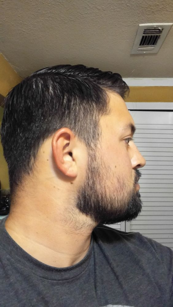 Thin And Thick Beard In Short Styles