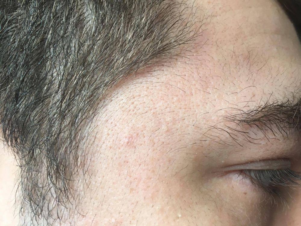 Sexy proper facial hair growth